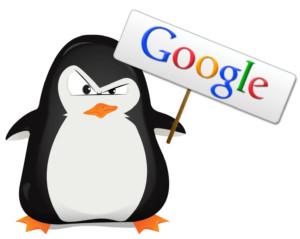 google penguin sign