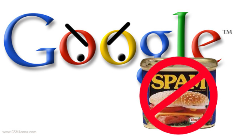 google and spam