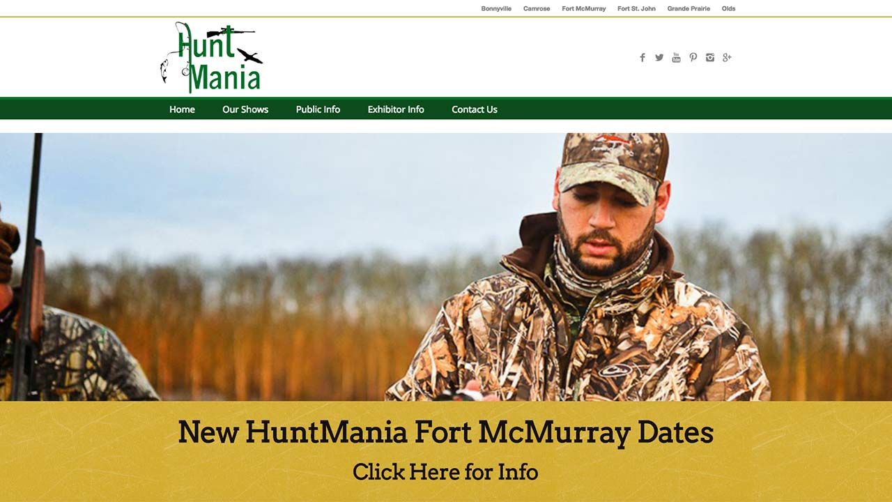 Hunt Mania Shows
