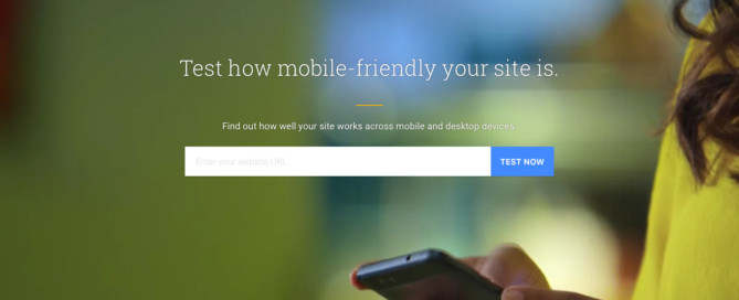 Think With Google Mobile Test Tool website image